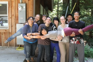 camp counselors at YEA